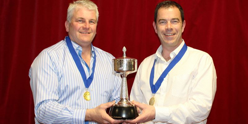 Robert Clark and Murray Stevenson win Scottish Pairs