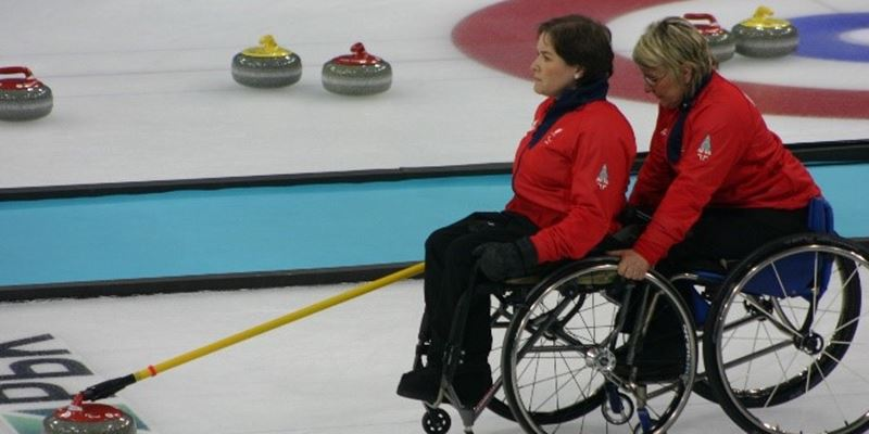Try Wheelchair Curling Session