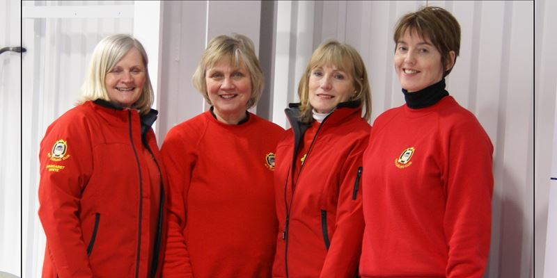 Margaret White's Team come second at One Day Bonspiel