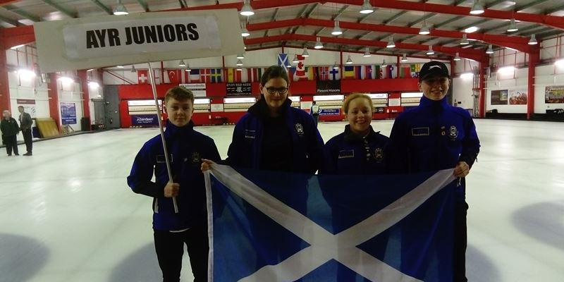 International junior curling club bonspiel