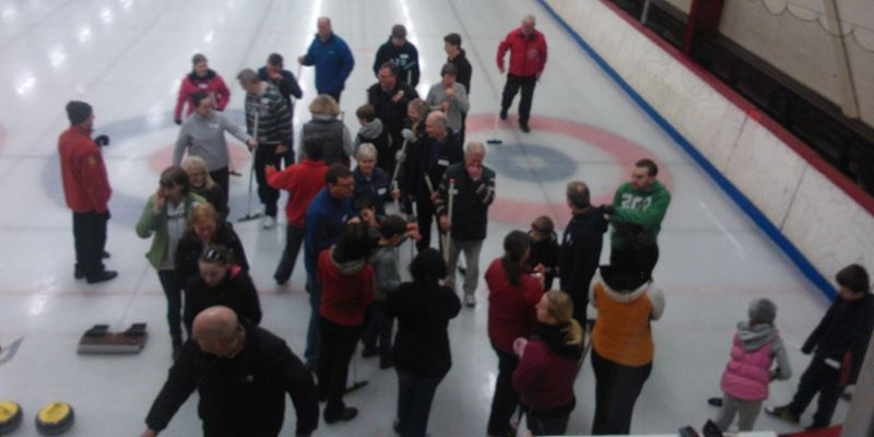 Sunday's Try Curling a Great Success