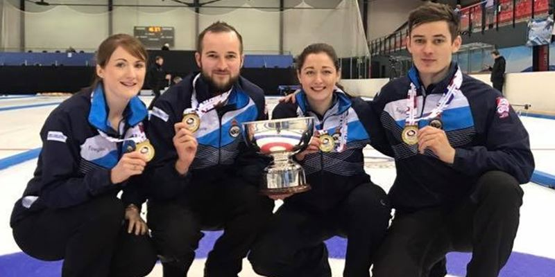 Team Hardie are World Mixed Champions