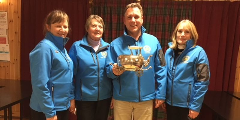Troon Portland win the Finnie Kettle