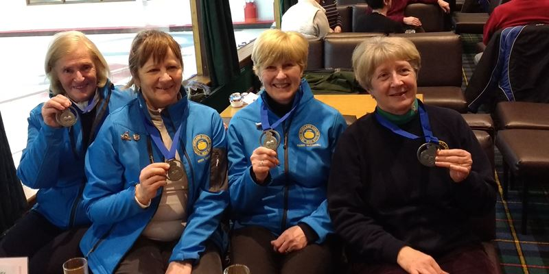 Troon Portland are Runners Up in National Masters