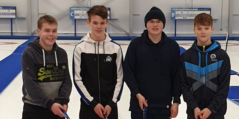 Ayr Juniors win Scottish Curling Skills Competition